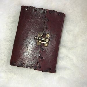 Dark Brown Leather Bound Journal